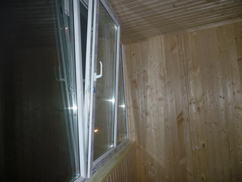 Эконом отделка балкона. - мои статьи - каталог статей - утеп.