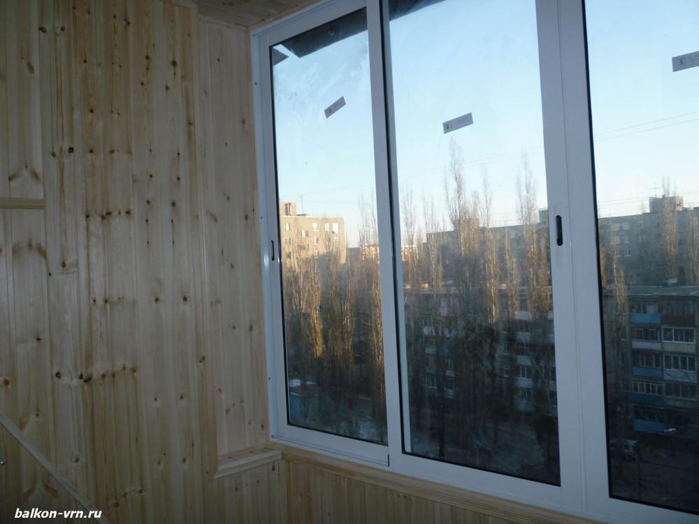 Качественное остекление балконов, квартир, в люберцы.